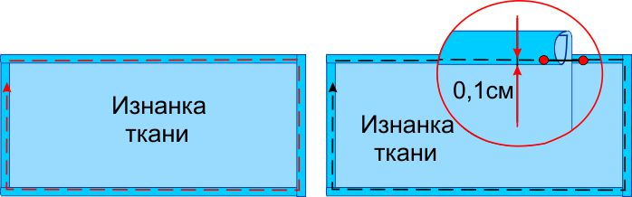 Как сшить части простыни 7