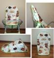 Пошив чехла на детский стул